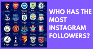 Premier League Teams With The Most Instagram Followers Snappd Blog